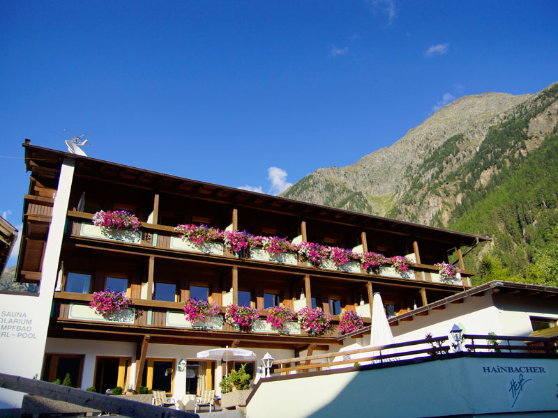 Hotel Hainbacher Hof in Sölden