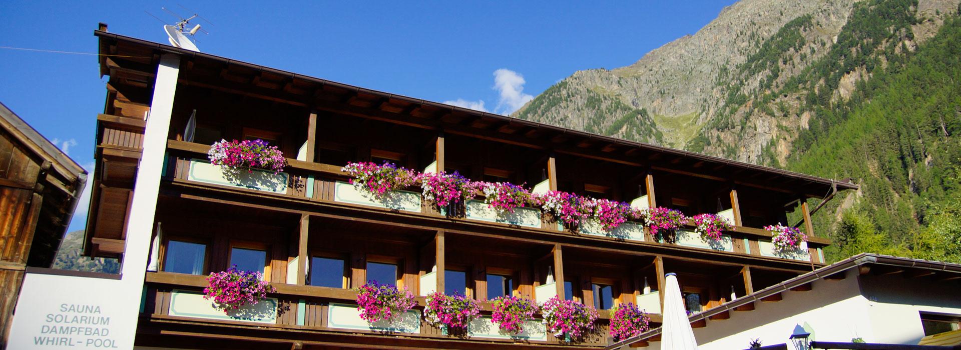 Impressionen De impressionen hotel garni hainbacher hof sölden
